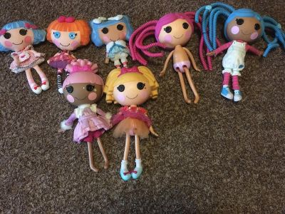 Lollaloopsy Doll Set (plastic and cloth)
