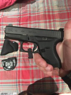 For Sale/Trade: Glock 42 w/ Night Sights