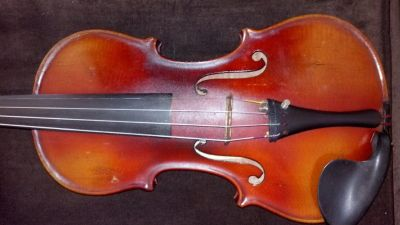 INCREDIBLE Rare Antique Highly Flamed 4/4 Full size Violin