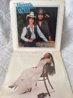Record/LPs: Crystal Gayle & Frizzel West