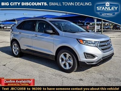 2018 Ford Edge 4d SUV FWD SE EcoBoost (SILVER)