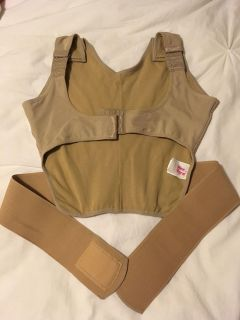 Maternity belly and back support belt
