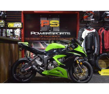 2013 Kawasaki Ninja ZX -6R ABS Supersport Motorcycles Lake Park, FL