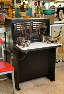 Mid century Bell Systems telephone switchboard