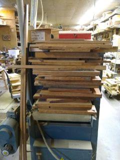 Cherry craft wood