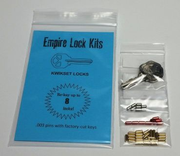 Kwikset Lock Rekey Kit