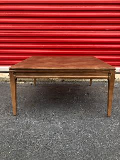 Mid Century Walnut Coffee Table by Mersman