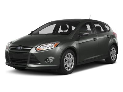 2014 Ford Focus SE (Oxford White White)