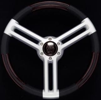 Purchase Uflex DORIABB STEERING WHEEL BLK SILVER motorcycle in Stuart, Florida, US, for US $175.90