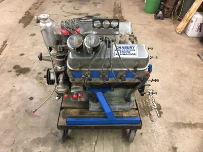 Small Block Ford Engine