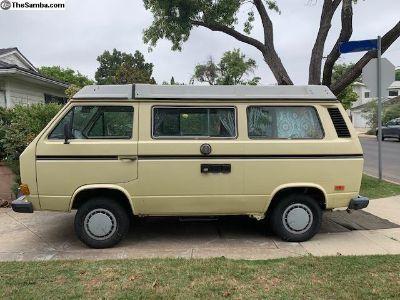 1984 Westfalia Vanagon Camper Van