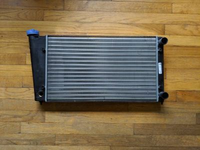 Early mk1 rabbit radiator with cap.