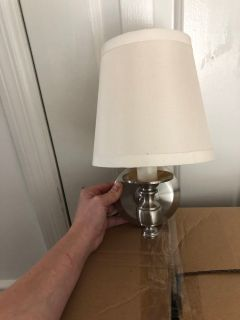 Silver Wall Sconces