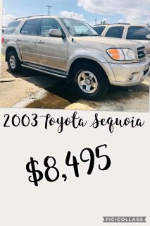 2003 Toyota Sequoia SR5 (Gold)