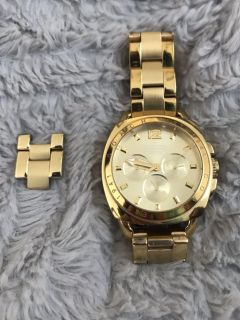 COACH Gold Link Stainless Steel Watch