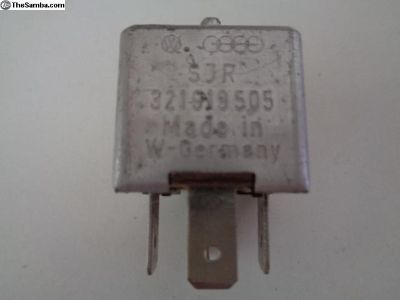 Vanagon 12V 4 Pin uxillary Fan Relay 321919505