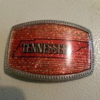 Tennessee belt buckle