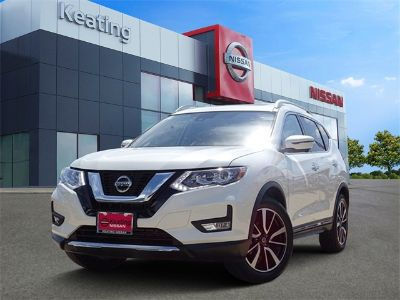 2018 Nissan Rogue SL (Pearl White)