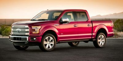 2015 Ford F-150 Lariat 4WD  Crew Cab (White Platinum Metallic Tri-Coat)
