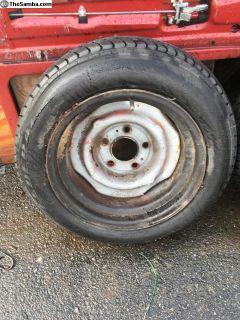 Porsche 911 356 912 944 steel wheels pair 15 inch