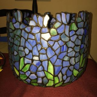Gorgeous stained glass planter