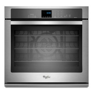 "Whirlpool Gold Stainless 27"" Single Wall Oven *Closeout* WOS92EC7AS"