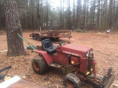 looking for old garden tractors&3pt attanchments