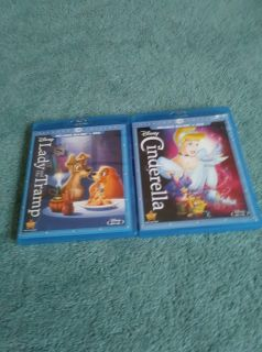 2 Blue Ray Childrens Disney Movies