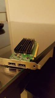 nVidia Quadro NVS 295 Dual DisplayPort Graphics Card