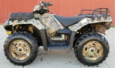 2013 Polaris Sportsman XP 850 H.O. EPS Browning LE Utility ATVs Cambridge, OH