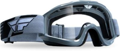 Find Fly Racing Grey Focus Adult Helmet Goggles Dirt Bike MX motorcycle in Ashton, Illinois, US, for US $17.95