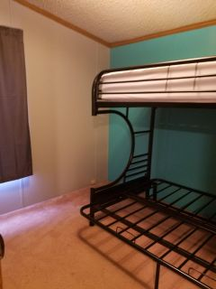 C shaped bunk bed