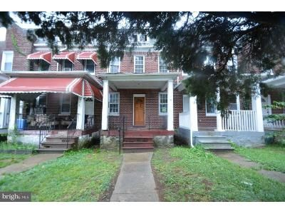 3 Bed 1 Bath Foreclosure Property in Baltimore, MD 21215 - Park Heights Ave