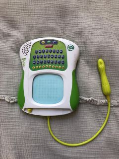 EUC LeapFrog alphabet and number learning toy. $8