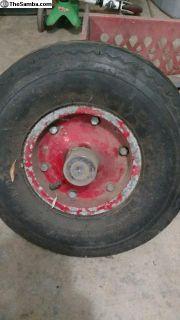 Single wheel trailer wheel/bearings (Allstate?)
