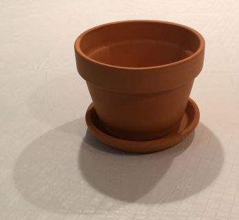 NEW - Terra Cotta Clay Pot /Planter & Tray /saucer