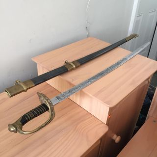 Civil War Union Army Replica Sword