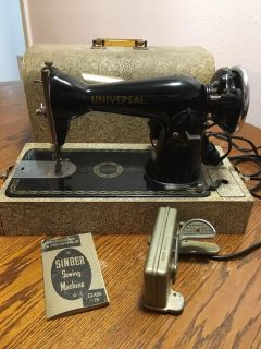 Universal Sewing Machine with case