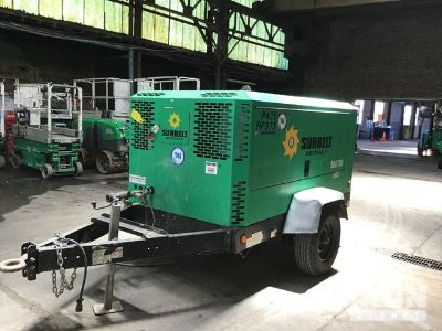 2012 Doosan Infracore P425/HP375WCU-T4I Air Compressor
