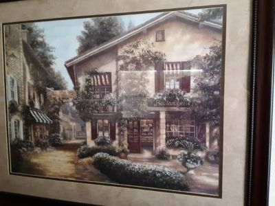 "32"" 41"" Wall Art (2 Pieces) French Village"