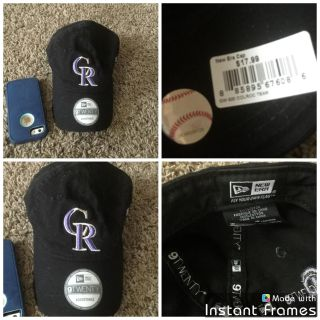 Brand new with tags Colorado Rockies baseball hat, has pet fur on it, retail was $17.99, asking $2.00