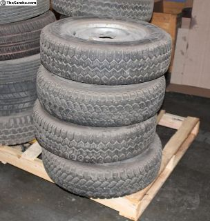Vanagon Wheels & Continental 185R14 Snow Tires