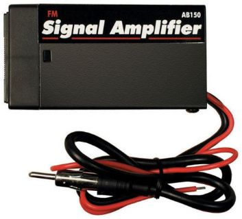 Purchase AI AB150 AUTO CAR MARINE RADIO FM ANTENNA SIGNAL AMPLIFIER BOOSTER 20dB GAIN motorcycle in Starke, Florida, United States, for US $16.99