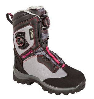 Purchase 2017 KLIM Ladies Aurora GTX Boa Boot - Dark Gray motorcycle in Sauk Centre, Minnesota, United States, for US $349.99