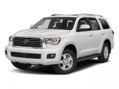 2018 Toyota Sequoia Platinum (Midnight Black Metallic)