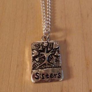 New Handmade Sisters Necklace - LAST ONE!