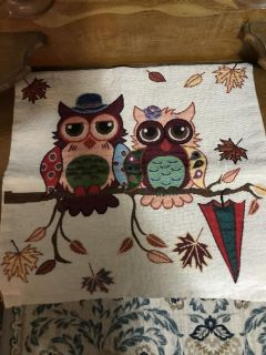 16 owl pillow cover