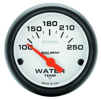 """Purchase Auto Meter 5737 Phantom 2 1/16"""" Electric Water Temperature Gauge 100-250 F motorcycle in Greenville, Wisconsin, US, for US $68.58"""
