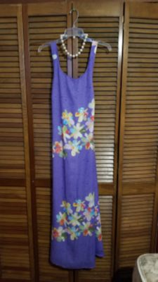 Ladies Maxi Dress with Necklace