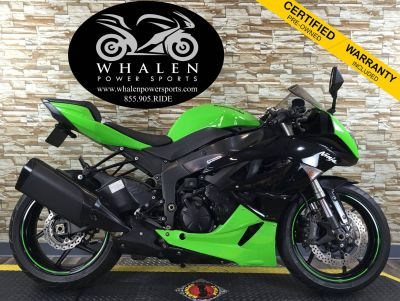 2011 Kawasaki Ninja ZX -6R SuperSport Motorcycles Port Charlotte, FL